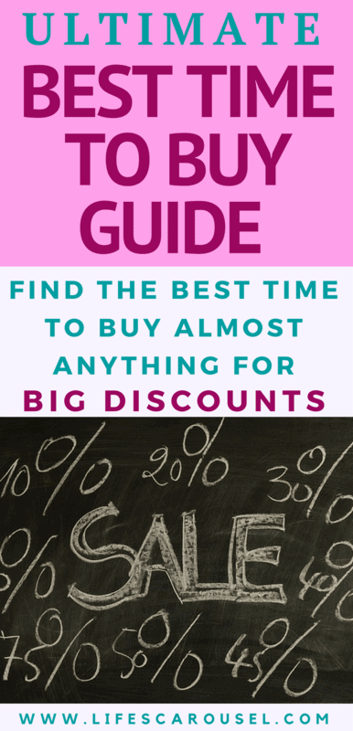 Ultimate Best Time to Buy Guide | When to buy things to get the biggest discount and SAVE MONEY! Appliances, cars, furniture, clothes, mattresses and more... EVERYTHING!