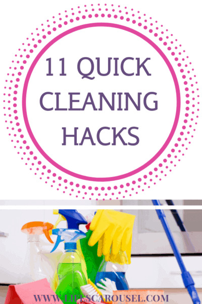 11 Quick Cleaning Hacks for Busy People