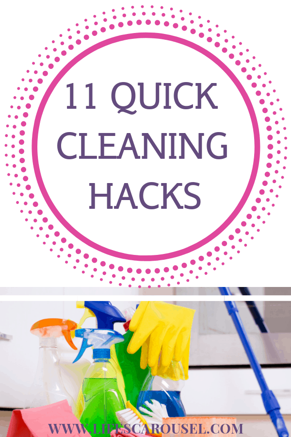 quick housework strategies for people on the go