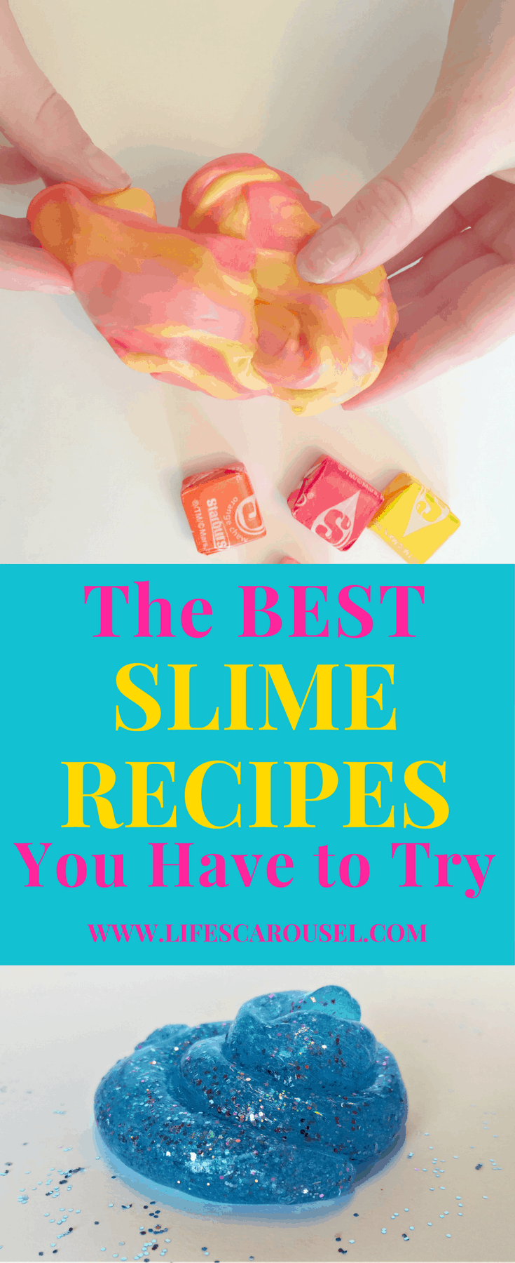 Best Slime Recipes you have to try! Your kids will love these easy slime recipes - galaxy slime, edible slime, butter slime and more! Fun kids activity craft for kids of all ages.