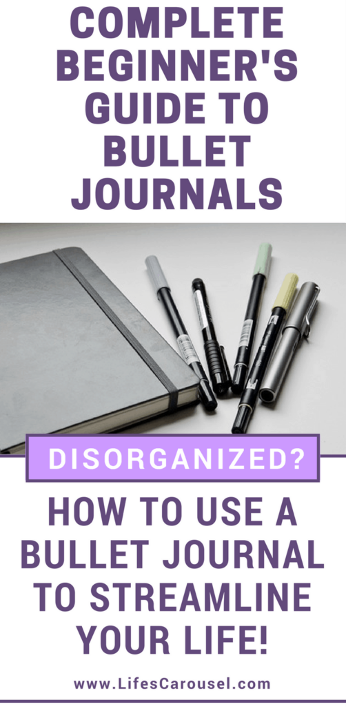 Start a Bullet Journal   Complete Beginner's Guide to Bullet Journals. Simple break down of EXACTLY how to start a bullet journal so you can be more organized and focus on your goals.