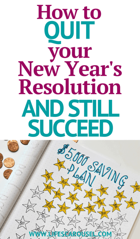 NO MORE New Years Resolutions | How to find balance in your life using goal setting. Use your bullet journal to set goals that you really will stick to!