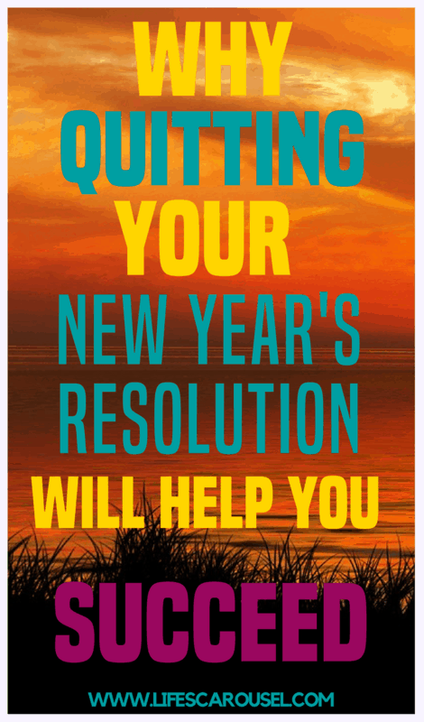 Why you should QUIT your New Years Resolution | Time to try goal setting instead. Ideas for goal setting to help you succeed in life and relationships. Tips for everyone - adults, students, kids and more!