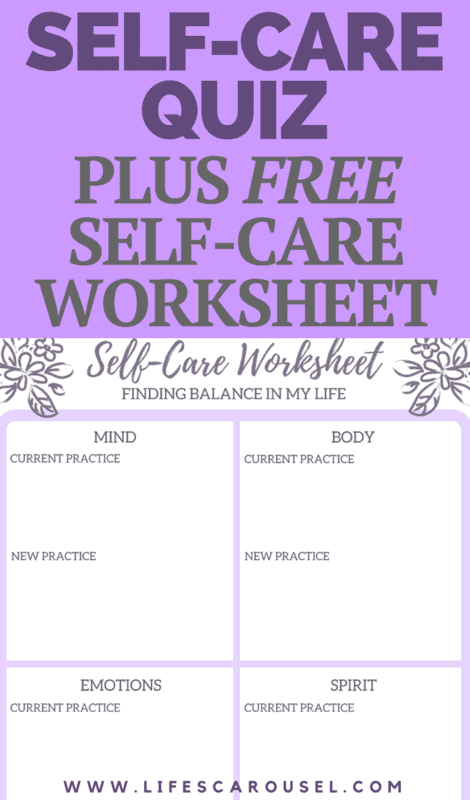 Self-Care Assessment Quiz | Take this self-care quiz and get a FREE worksheet to help you create new routines and practices. Self Care Activities to help you take better care of yourself.