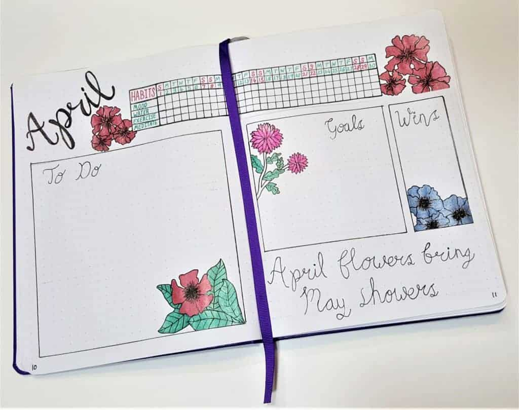 Bullet Journal Weekly Spread – Finding the Perfect Weekly Layout | Weekly Spread ideas, layouts, simple and minimalist ideas. Perfect for work or school. Dutch door and half page designs!