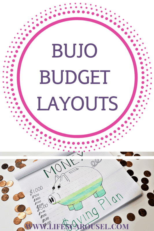 awesome bullet journal budget layout ideas lifes carousel