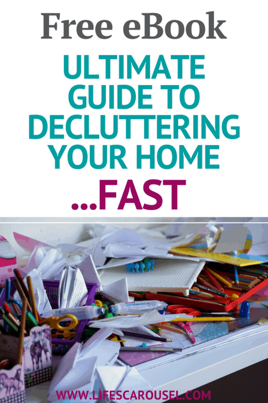 FREE Ultimate Guide to Decluttering Your Home | Professional Organizer Secrets! Clear the clutter and organize your home today with this FREE ebook. Start living clutter free with storage solutions, organizational hacks and tips and more! Bedroom, kitchen, bathroom or study - help for every room in your house!