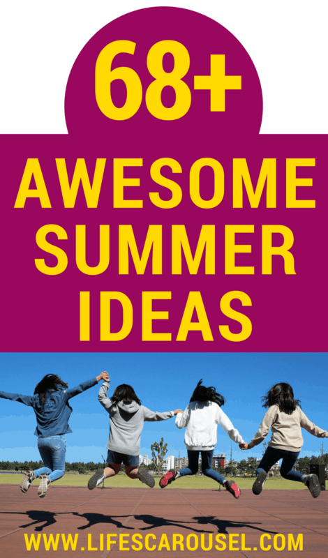 68+ BEST Summer Activities for Kids | Tons of ideas for indoor, outdoor, free and educational activities for kids of all ages. Toddlers, preschoolers, teens, boys or girls! This list will keep you busy all summer long! Crafts and STEM ideas for summer fun!