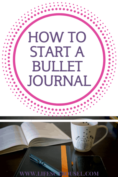 How to Start a Bullet Journal - Complete Beginners Guide to Starting a Bullet Journal