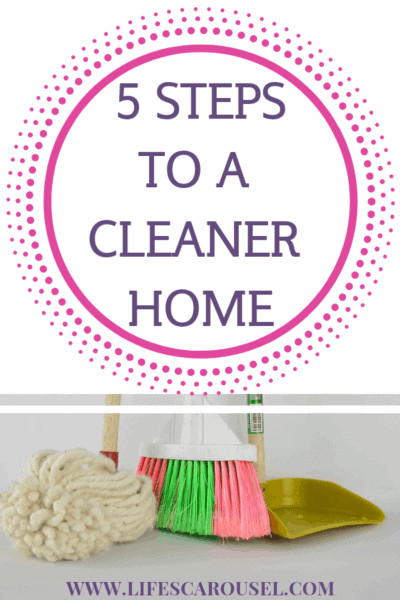 "Messy House? 5 EASY Steps to Clean Your House even if you DON'T WANT TO! Stop feeling overwhelmed and paralyzed by the mess. Learn how to clean your home and keep it clean! The secrets to a clean house from a recovering ""hoarder""!"