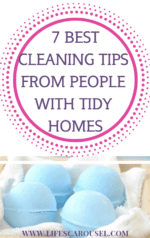 7 BEST Cleaning Tips from People with Clean Homes - Find out how the people with impossibly clean homes manage to keep them that way! These house cleaning tips will help you get your home clean and keep it clean!
