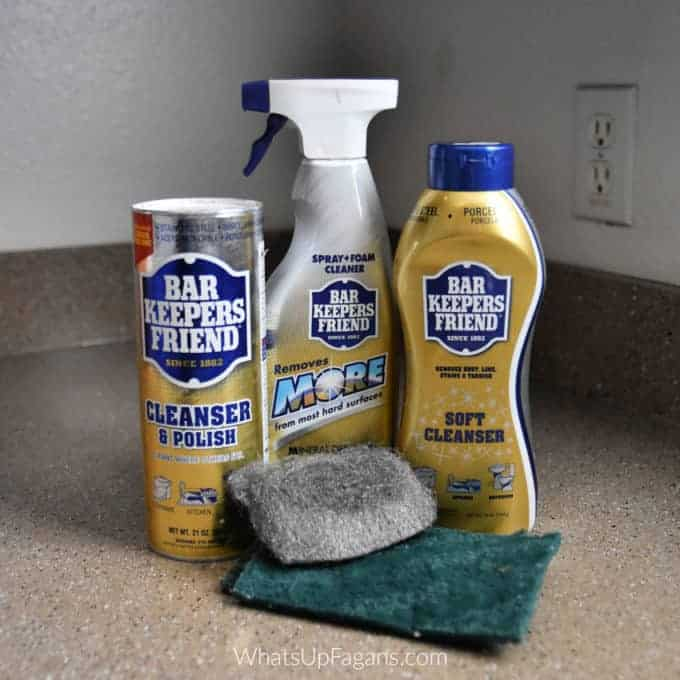 Cleaning Tips - 30 Uses for Bar Keepers Friend