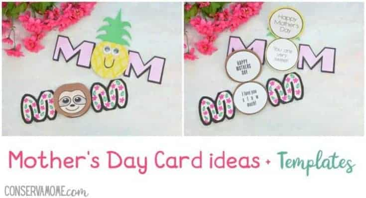 Mother's Day Card ideas with Templates