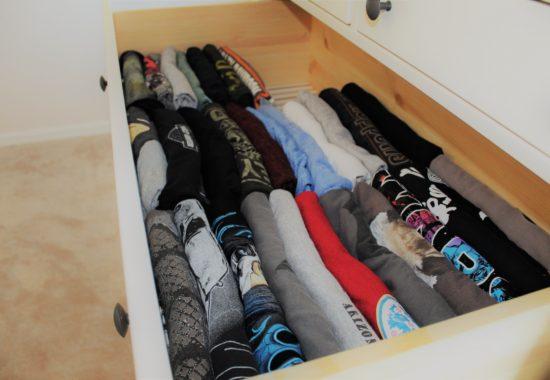 KonMari Folding – EXACTLY How to Fold Clothes like Marie Kondo