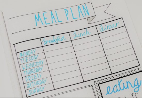Weight Loss Tracker For Bullet Journal – Lose Weight in 2019!