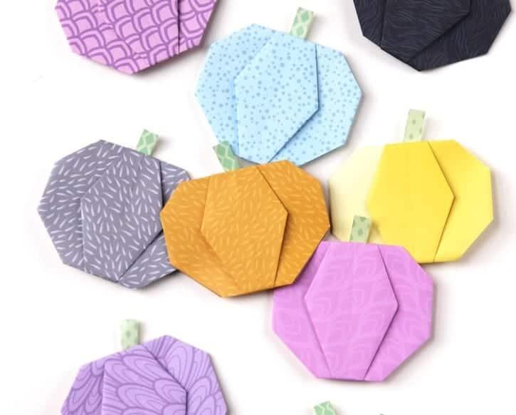 Origami Pumpkins