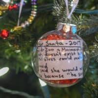 Santa Wish List Ornament