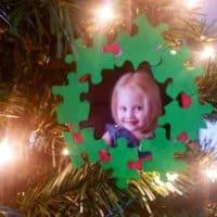 Jigsaw Piece Ornament