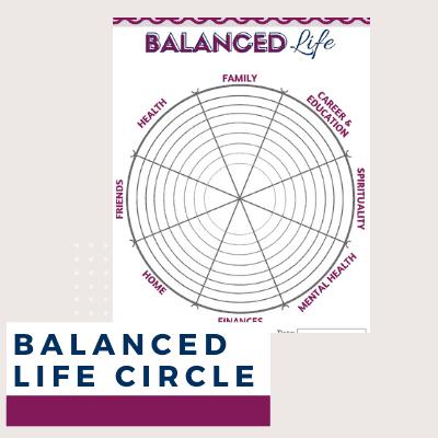 Level 10 Life Wheel Printable